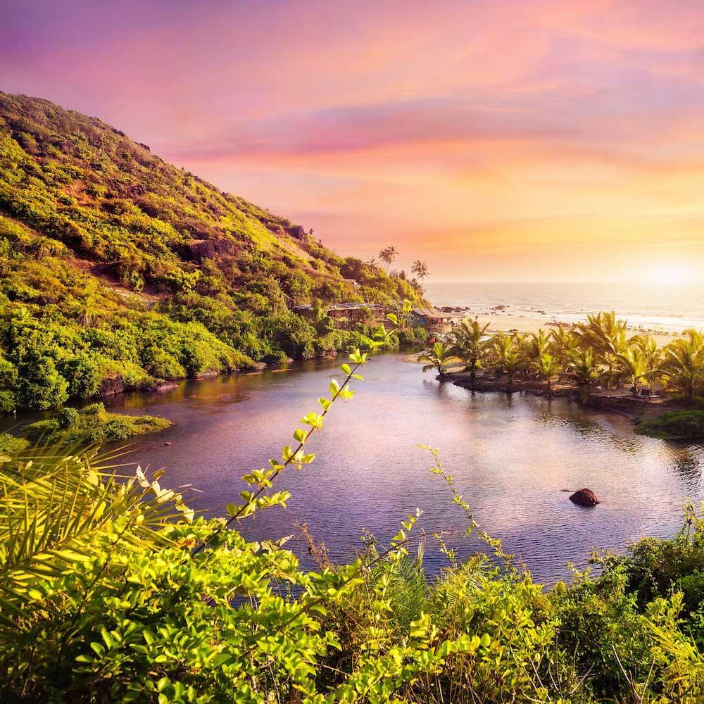 Arambol Sweet Water Lake, Goa
