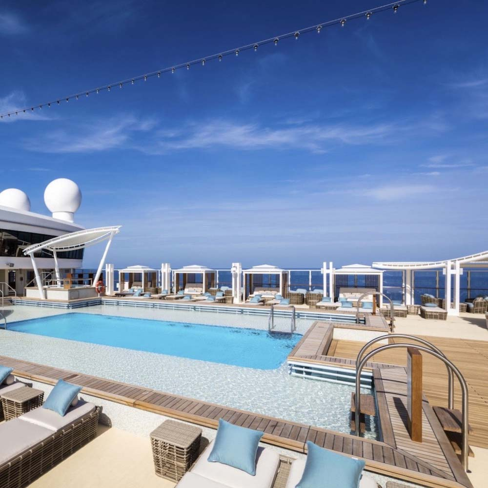 Genting Dream | The Palace Pool Deck