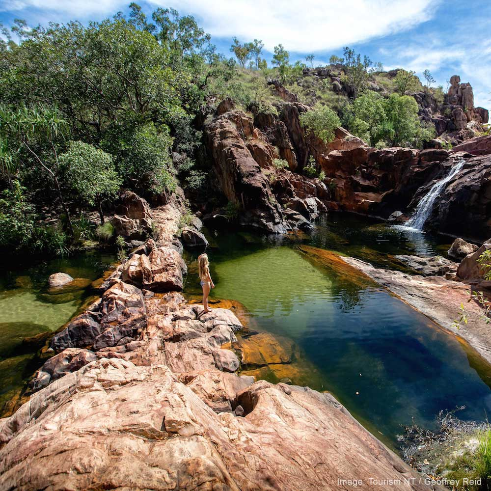 Gunlom Falls, NT