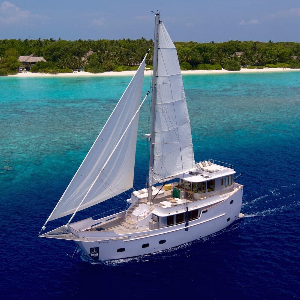 Sailing The Maldives
