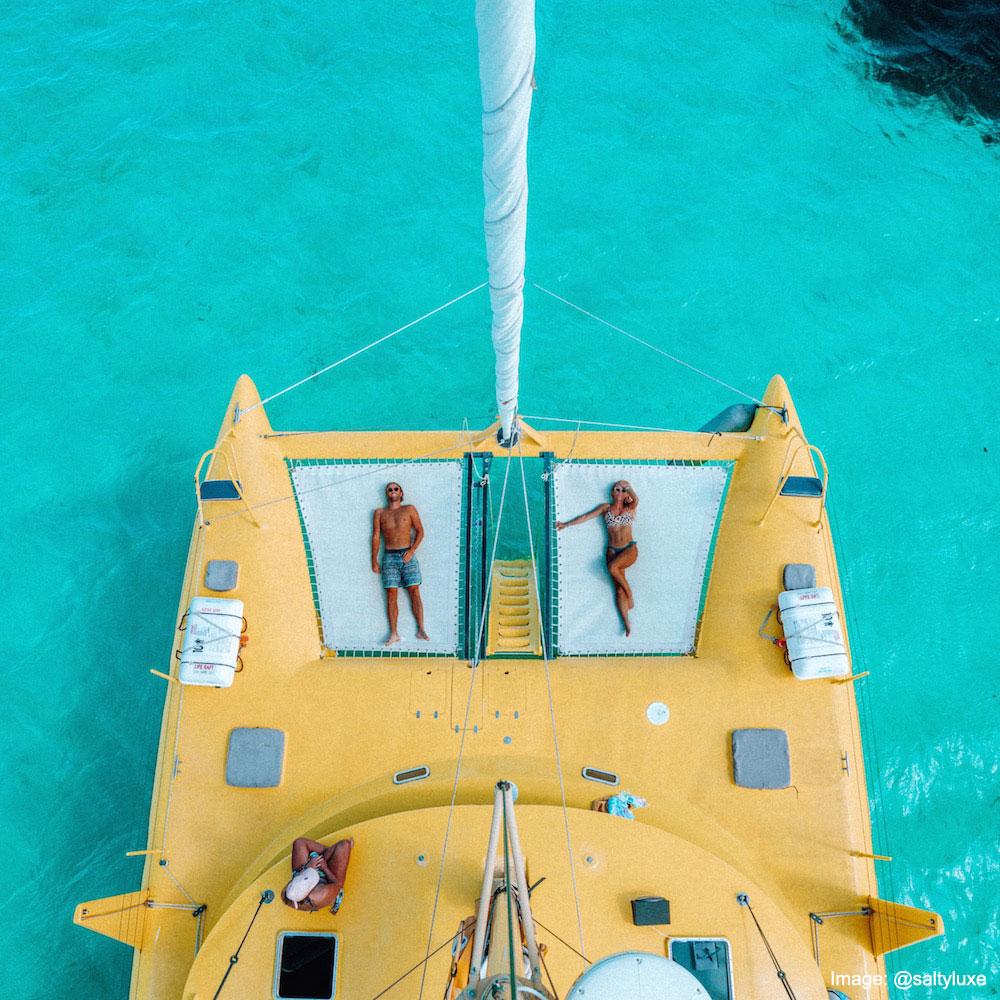 Sailing Rottnest