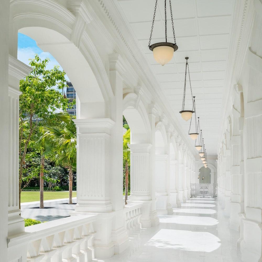 Colonnade Walkway