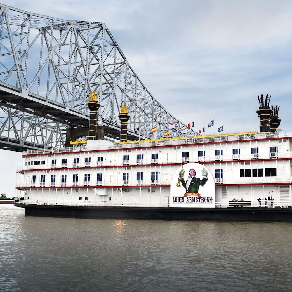 Riverboat Louis Armstrong, New Orleans