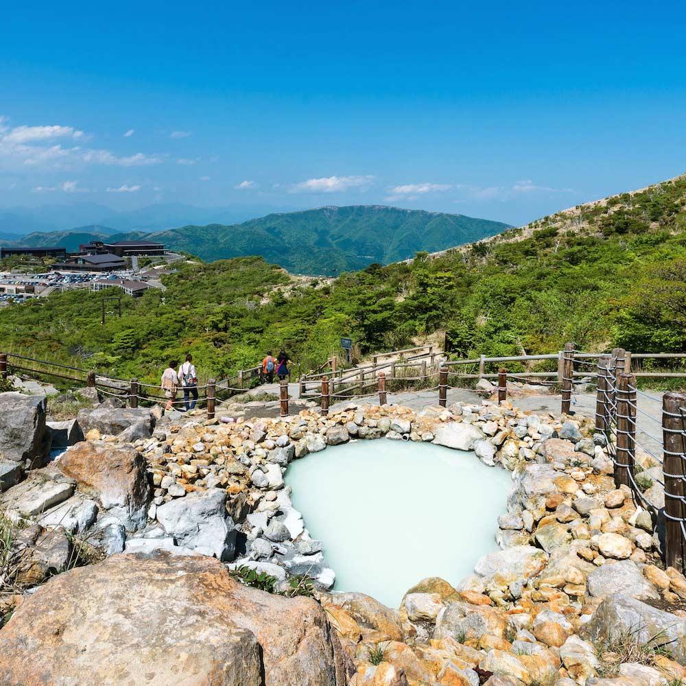 Ōwakudani Hot Springs